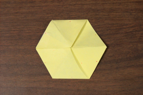 5:51 PM: My First Hexaflexagon