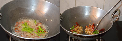 How to make tamarind rice (Andhra style)