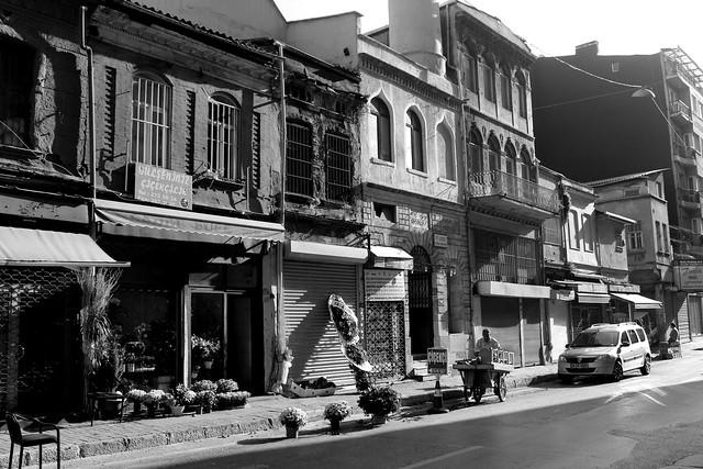 Street scene in Karakoy, Istanbul