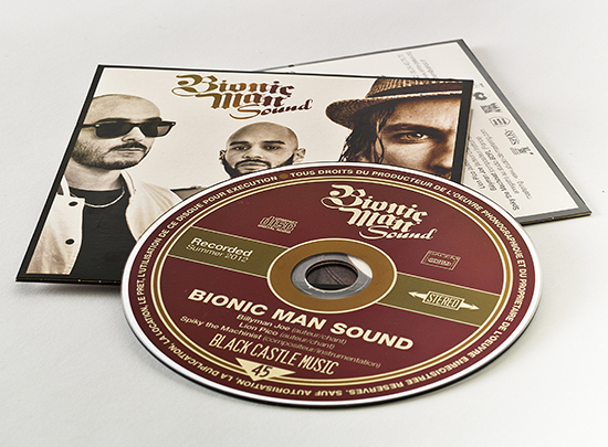 bionic man sound CD