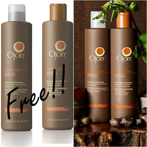 Ojon shampoo and conditioner offer