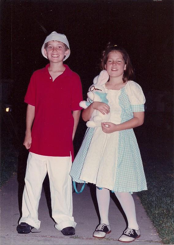 1994 gilligan and alice in wonderland costume