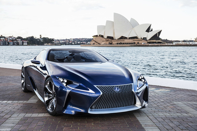 Lexus LF-LC Blue Concept *Explored*