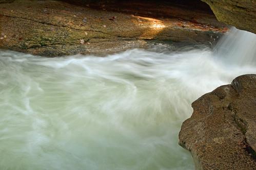 "Filling The ""Pool"" at Sabbaday Falls by KAM918"