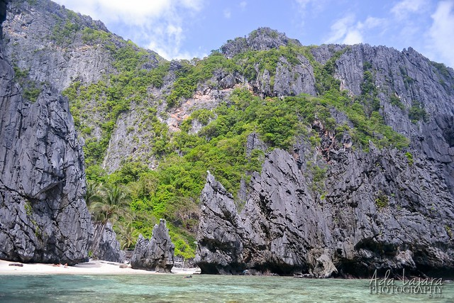 The Secret Lagoon in El Nido, Palawan