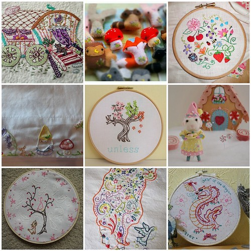 Friday Funspiration: Doodle Stitching/littledear patterns!