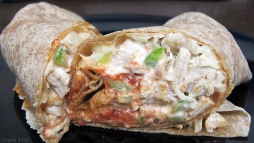 Chicken salad parmigiana wrap by Coyoty