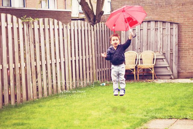 Magic paraplu