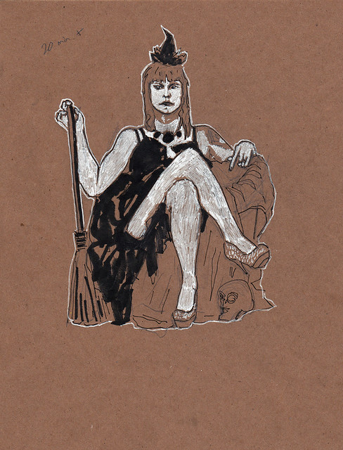 Dr Sketchy's DC Eyrie Twylite