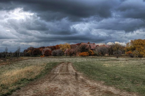 autumn sky wisconsin clouds path wauwatosa hdr nikond90 milwaukeecountygrounds eschweilerbuildings
