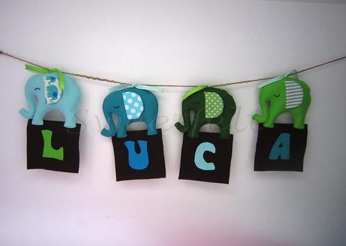 ♥♥♥ Luca ... by sweetfelt \ ideias em feltro
