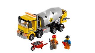 Lego City 60018: Betonmischer
