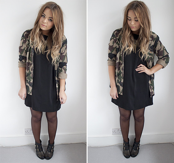 72039388a97fb Lily Melrose - UK Style and Fashion Blog: camo jacket