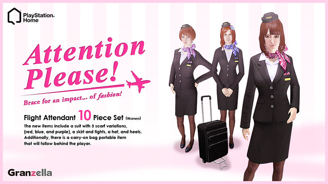 PlayStation Home: Flight Attendant