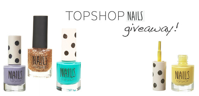topshop nails giveaway