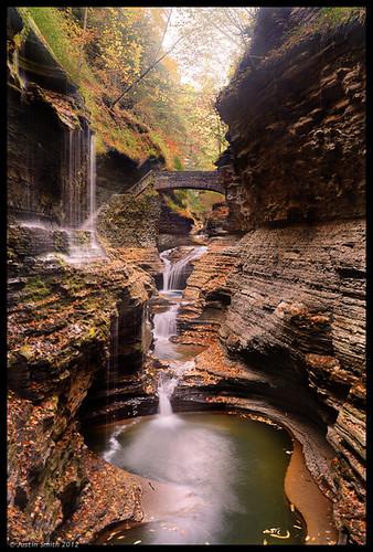 ny newyork waterfall fingerlakes watkinsglen rainbowfalls justinsmith nikon1735mmf28 nikond800 justinsmithphotocom