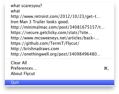 FlyCut for Mac