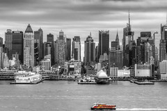 Selective Color Manhattan Skyline