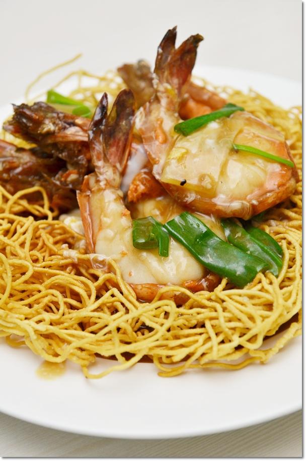 Sang Har Meen - Freshwater Prawns Noodles