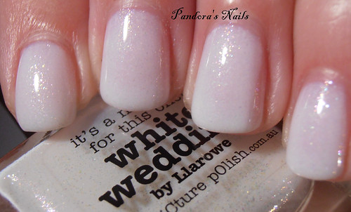 Picture Polish White Wedding by Llarowe 2