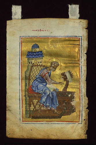 Parchment and Pixel: The Evangelists Matthew and Mark from a