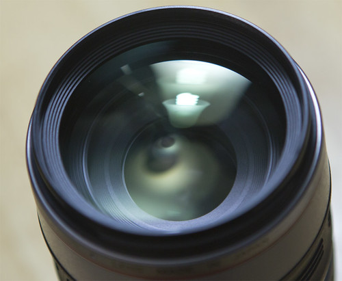 Front Elements of a Canon EF 100-400L by Ricky L. Jones Photography