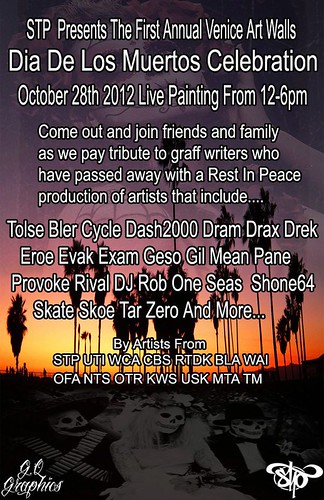 1st Annual Venice Art Walls Dia De Los Muertos Celebration