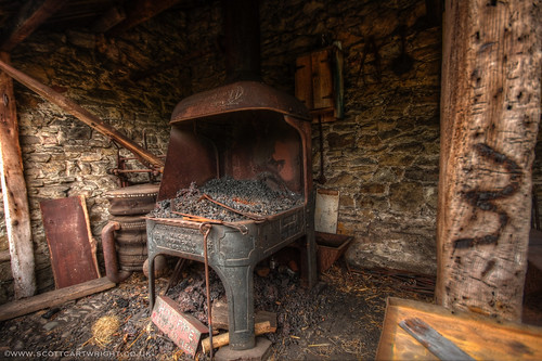 Old Furnace HDR