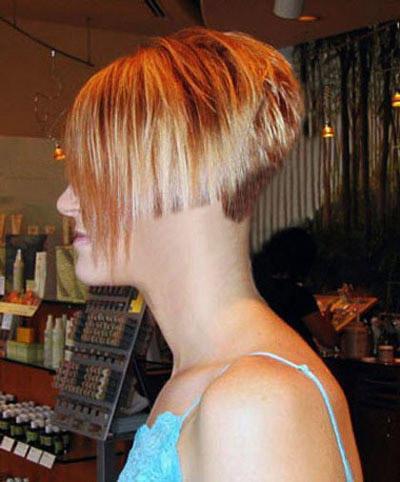 a short bobbed nape buzzed  short haircuts women  flickr