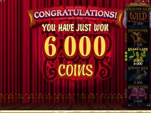 The Twisted Circus Bonus Prize