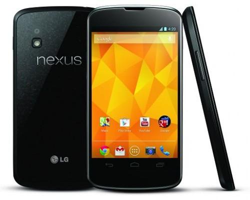 Google Nexus: 3 Sizes