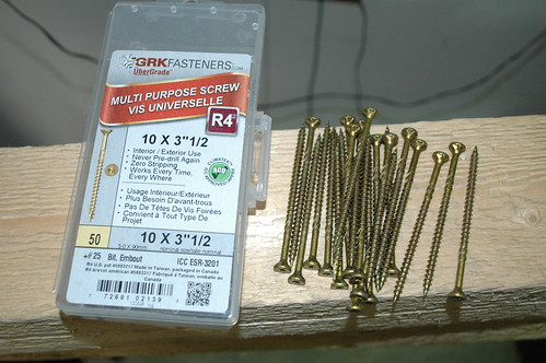 "GRK 3-1/2"" Decking Screws"