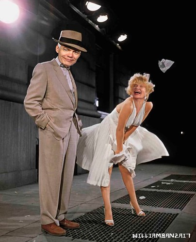 MAX AND MARILYN by Colonel Flick