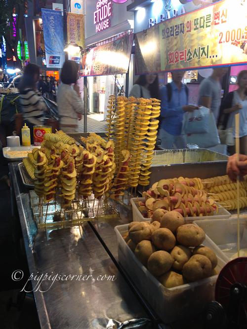 Myeongdong-street food