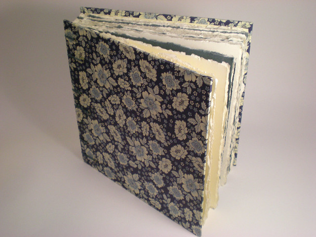 Bookbinding class at BYU--fall 2010