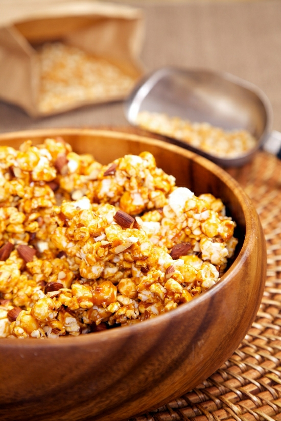 Chipotle Coconut Maple Caramel Corn