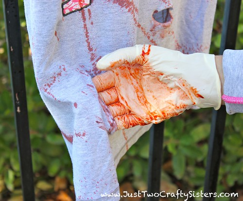 Zombie & Zombie Hunter Couples Costume Tutorial
