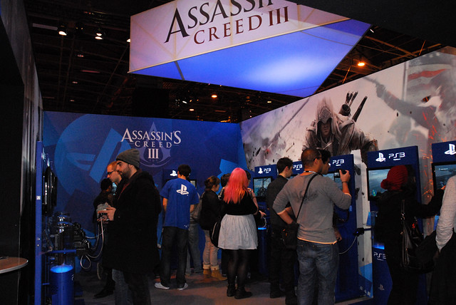 Stand PlayStation - Assassin's Creed III