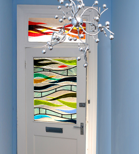 Fused Glass Art Door Panel Scotland Flickr Photo