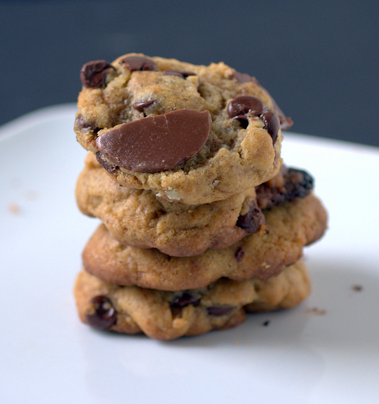 Molasses And Brown Butter Chocolate Chip Cookies Recipe — Dishmaps