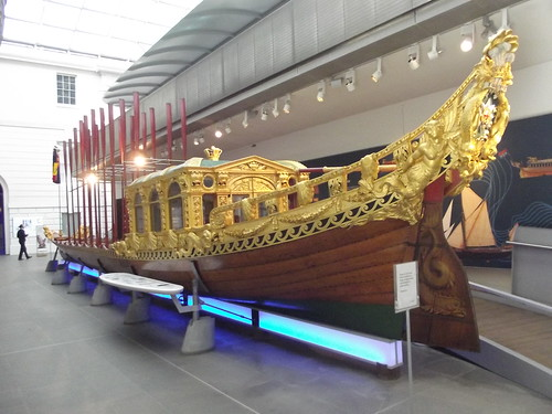 Royal Barge at the Maritime Museum by Ell Brown on Flickr.  Used through Creative Commons.