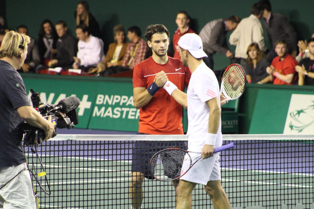 Grigor Dimitrov and Jurgen Melzer