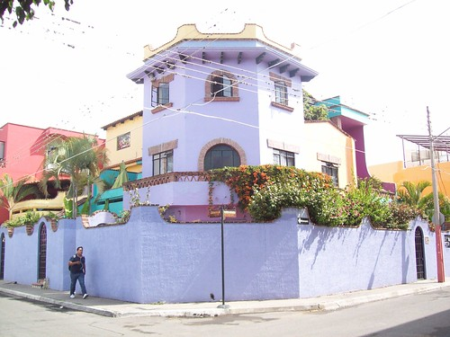 Big purple house