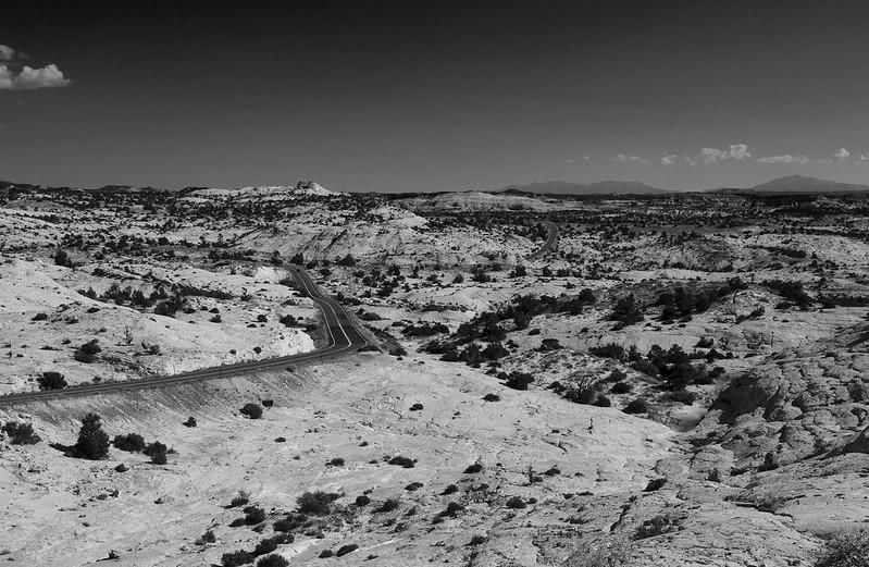 Utah Highway B&W