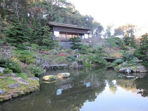 Hakone Japanese Gardens, Saratoga, CA, pond… IMG_2452