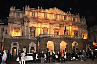 La Scala de Milán.