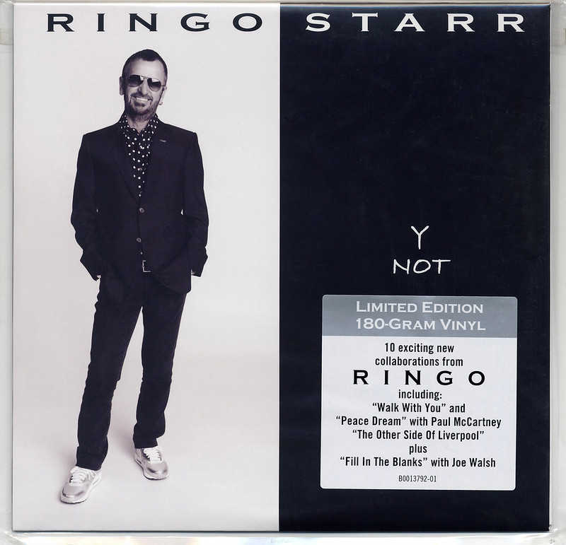For Beatles' Collectors: Ringo Starr - 'Y Not' LP (Hip-O Records ...