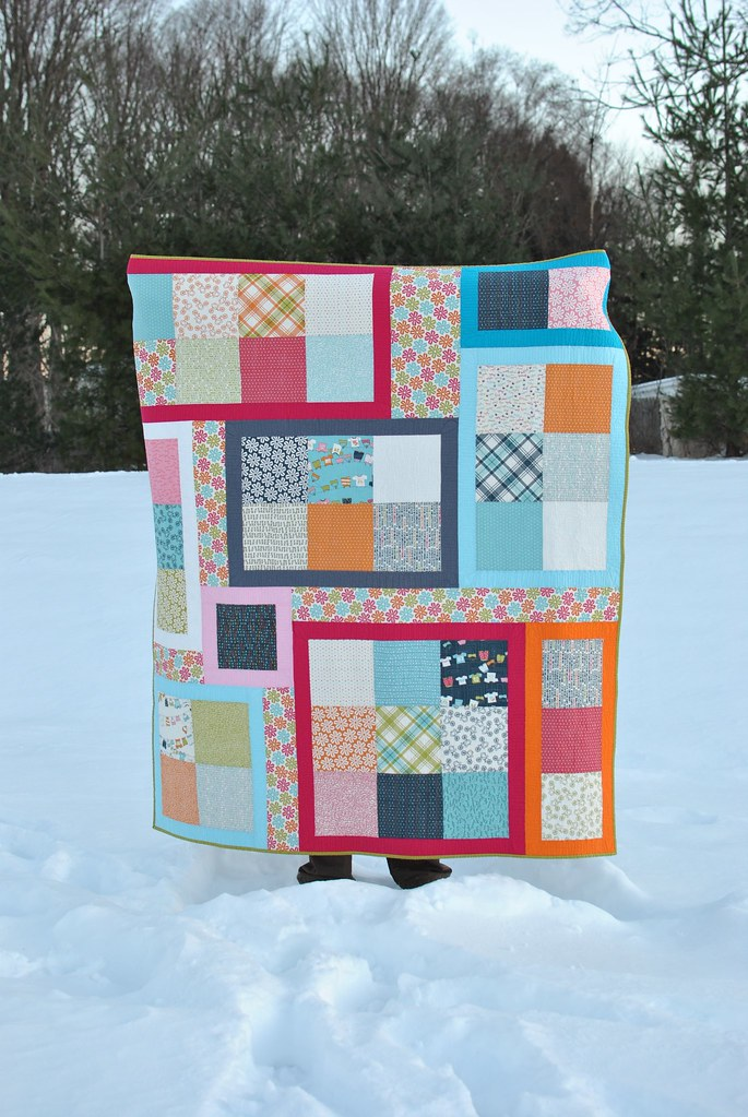 Lucy's Crab Shack Puzzle Quilt