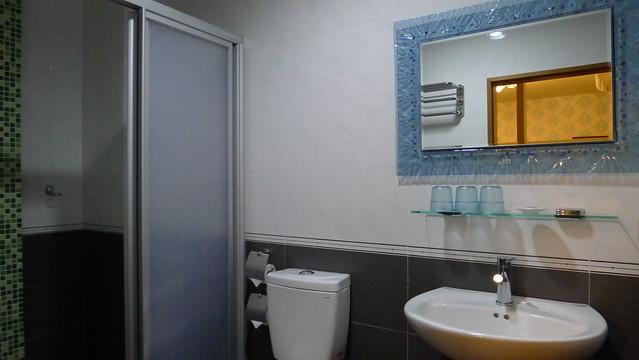 三人房,乾濕分離的衛浴