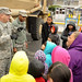 Community enjoys the Army Strong Zone